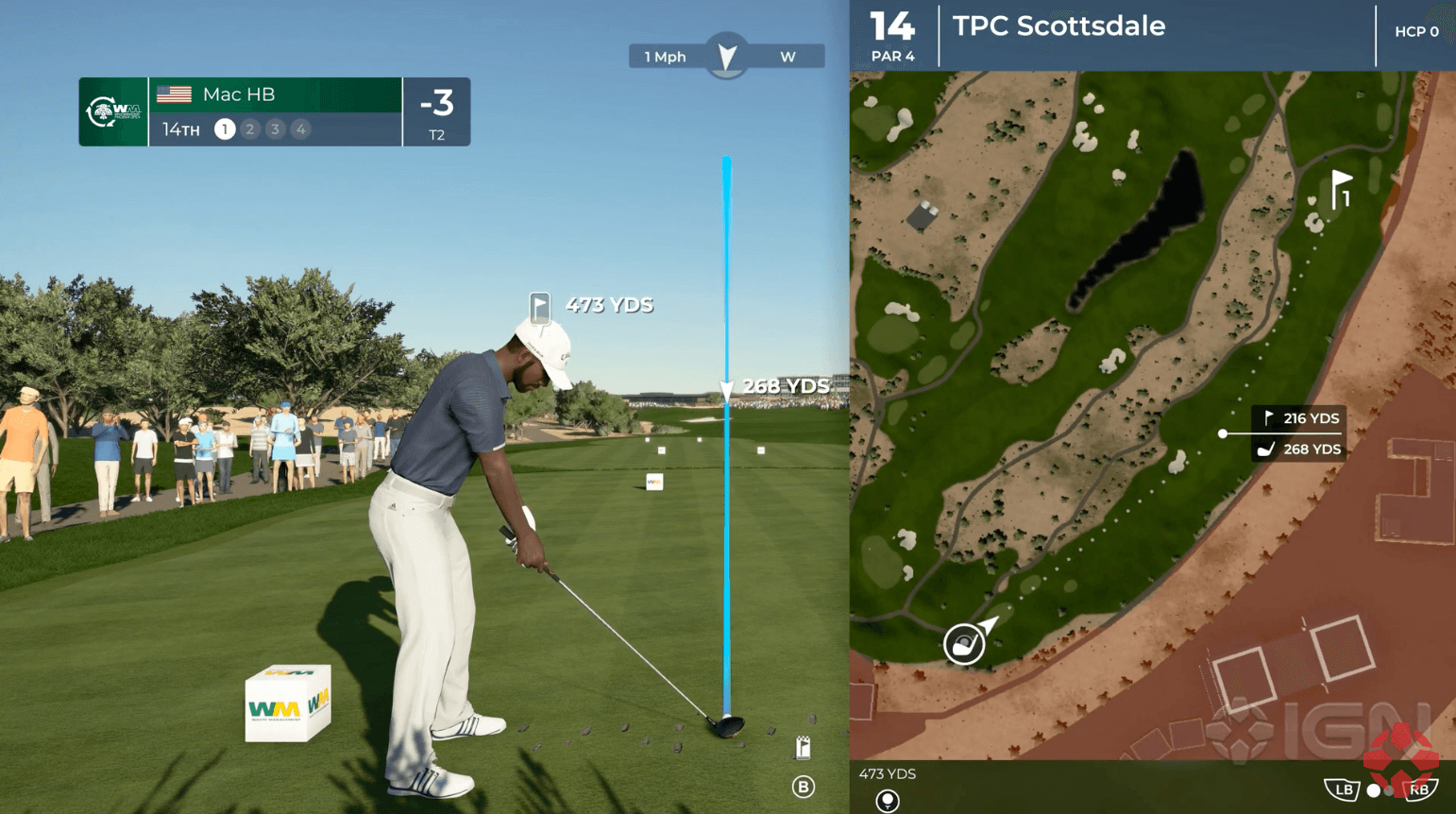 PGA Tour 2K21: Gameplay