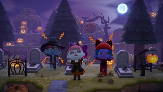 Animal Crossing: Herbst-Update ist schön gruselig