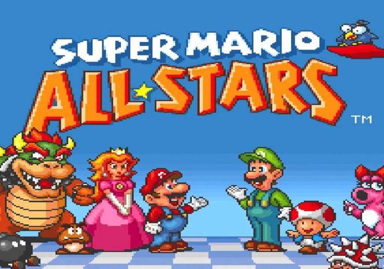 """Super Mario All-Stars""-Collection: Vier Klassiker kostenlos verfügbar"