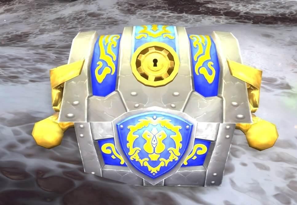 World of Warcraft Kiste mit Kriegsvorräten