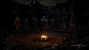 Diablo 2: Resurrected: Heldenauswahl Bildschirm