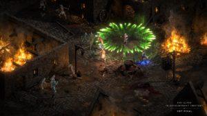 Diablo 2: Resurrected: Totenbeschwörer in Tristram