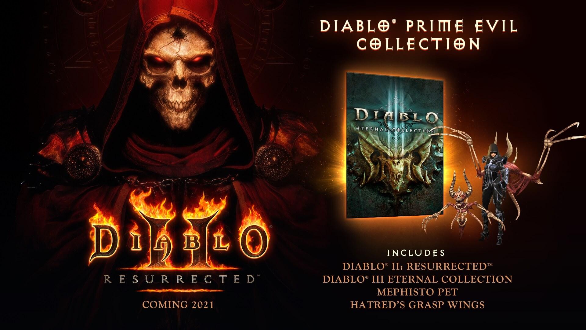 Diablo 2: Resurrected: Prime Evil Edition