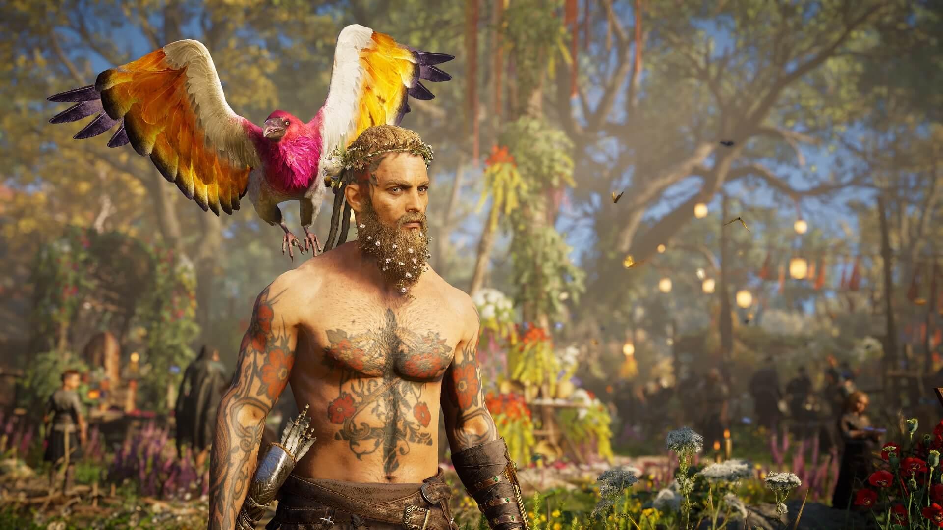 Assasins Creed Valhalla: Neue Tattoos für das Ostara Festival