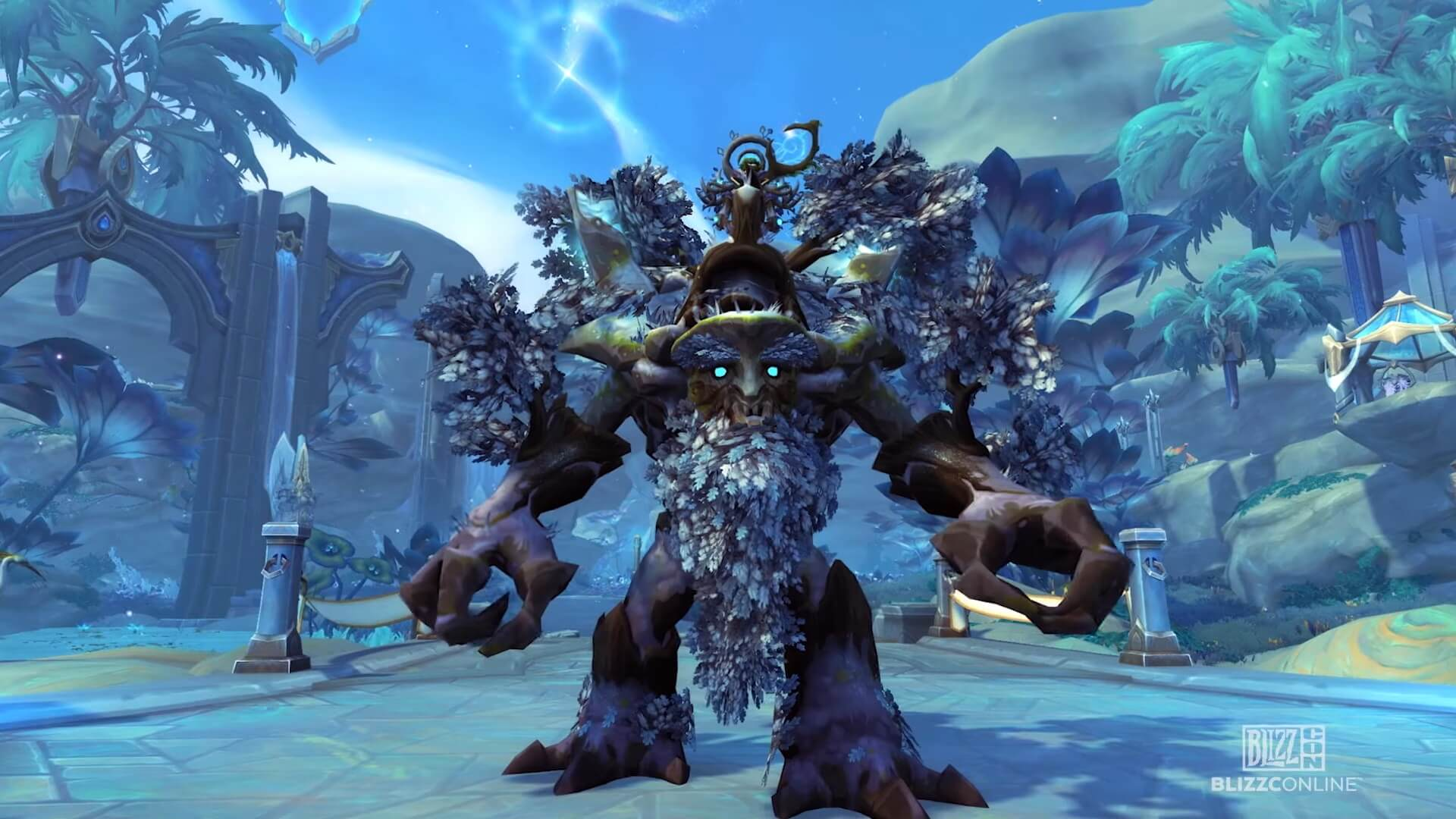 "World of Warcraft Shadowlands: Community Mount ""Wanderndes Urtum"""