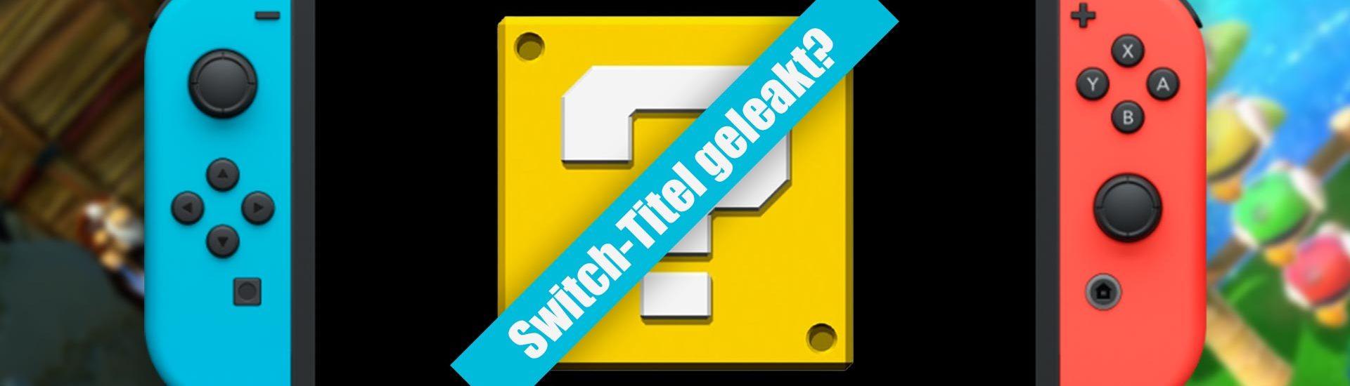 Insider nennt weitere Titel, die für die Nintendo Switch 2021 erscheinen sollen