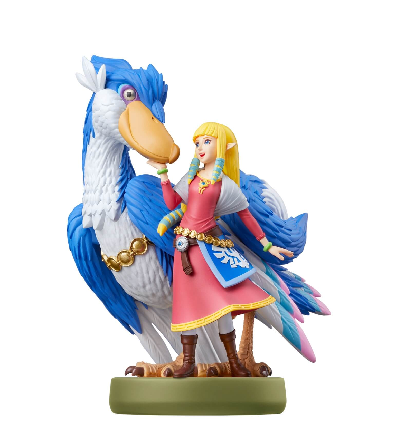 The Legend of Zelda Skyward Sword: amiibo Figur von Zelda und Loftwing