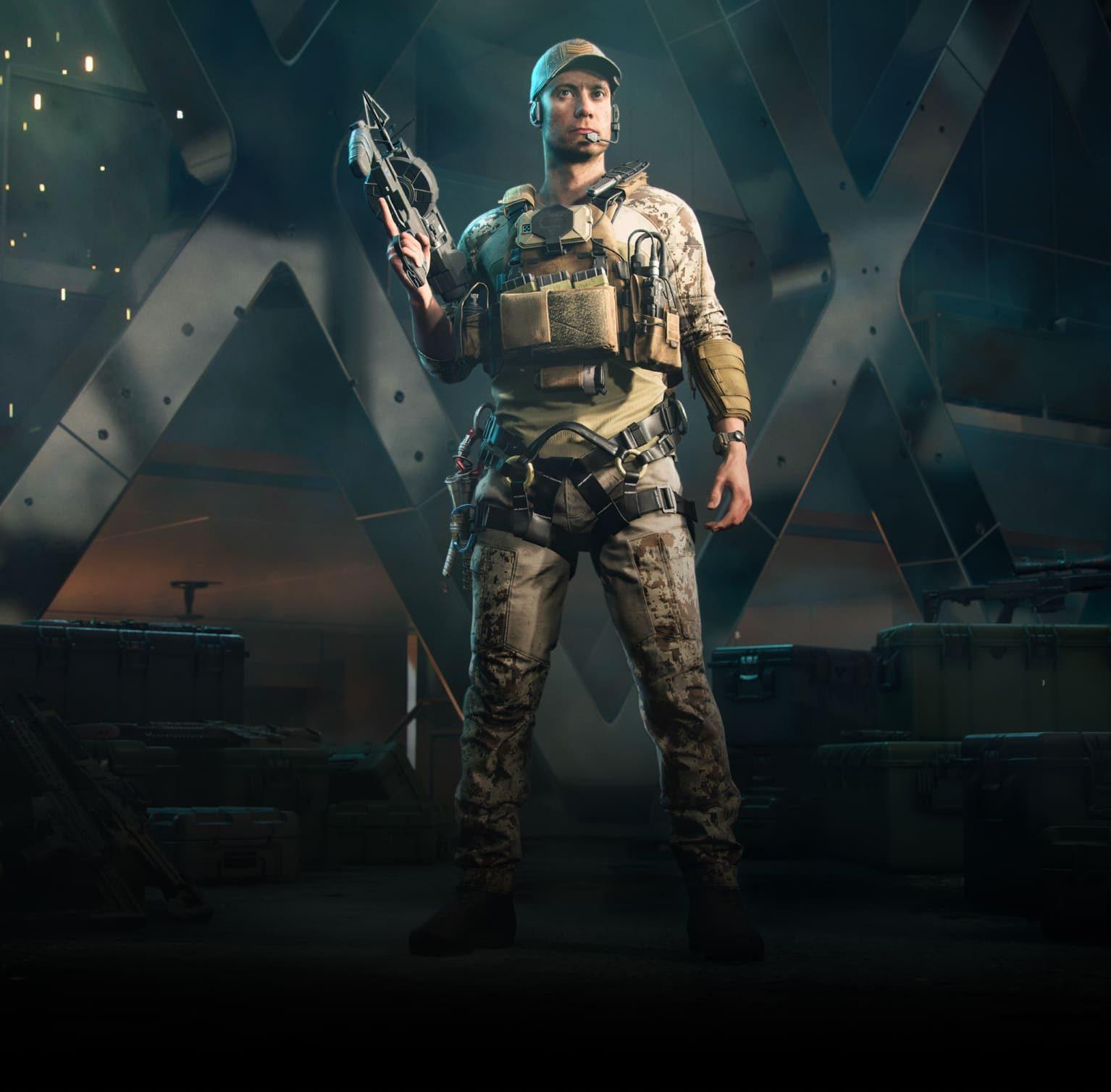 Battlefield 2042: Webster Mckay