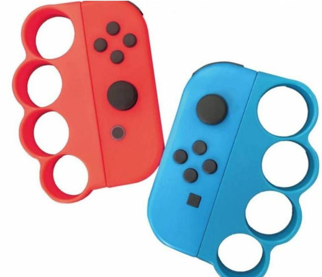 Nintendo Switch Joycon-Schlagringaufsätze von Playasia
