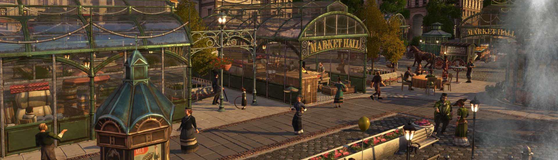 Anno 1800: Kosmetisches DLC verändert euer Stadtbild