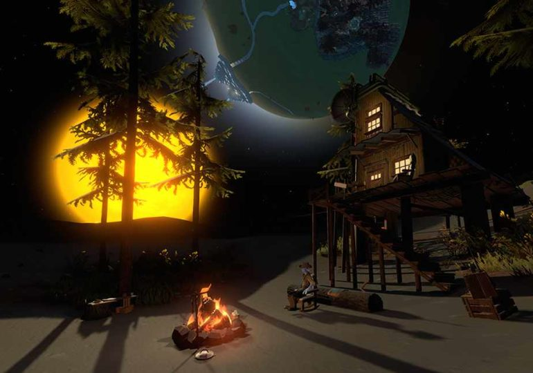 Der Horror kommt nach Timber Hearth: Outer Wilds – Echoes of the Eye